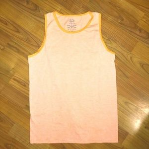 Boys Orange Muscle Shirt XL 14/16
